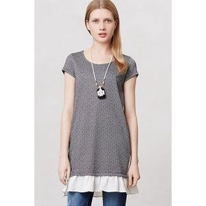 Anthropologie Clu + Willoughby Fluttered Tunic